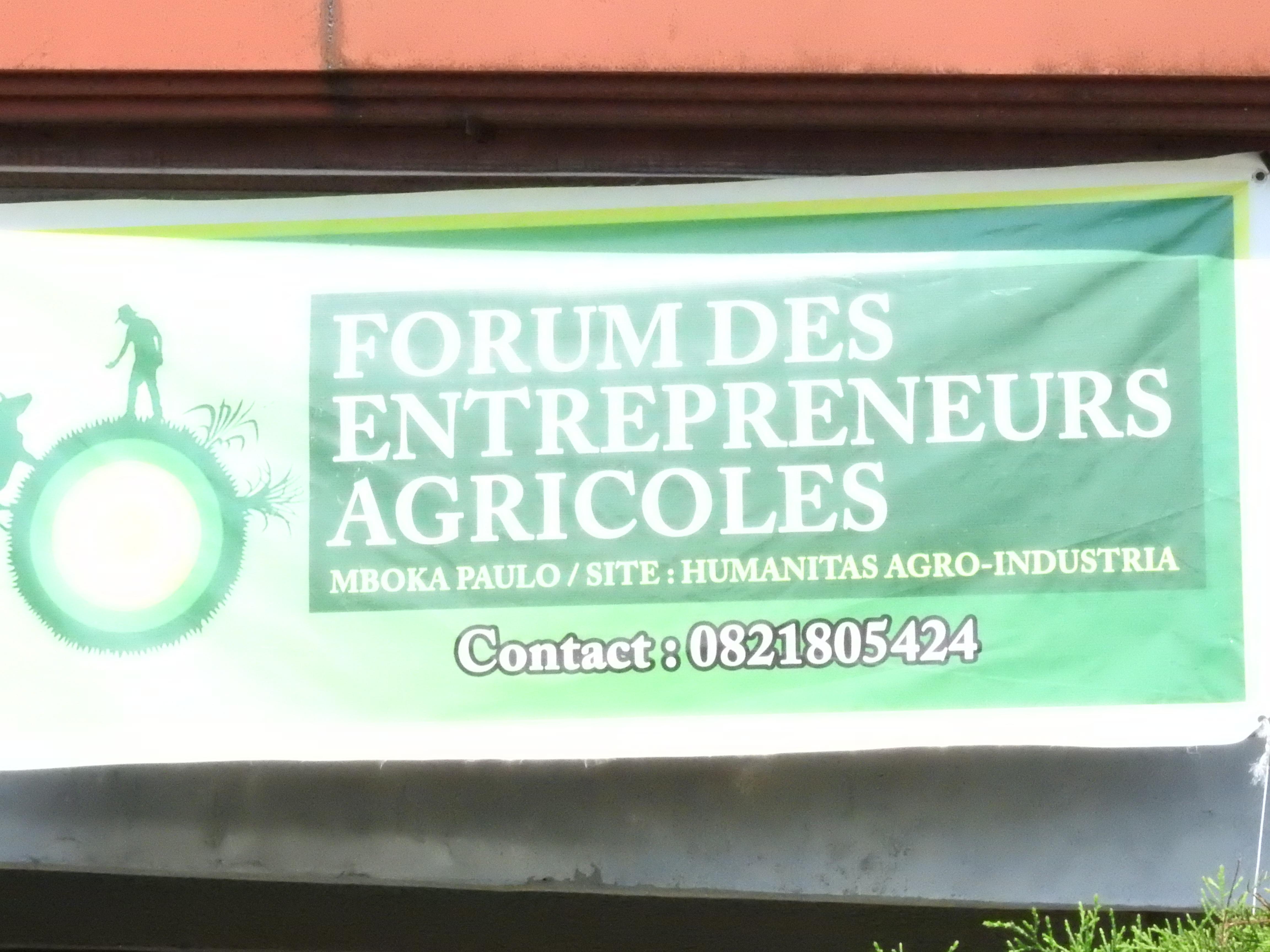 Forum des entrepreneurs Agricoles : ONEM accompagne le secteur agricole